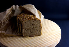 Whole Grain Dark Bread Stock Images