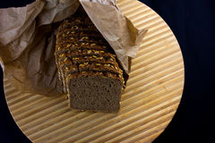 Whole Grain Dark Bread Royalty Free Stock Photos