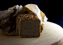 Whole Grain Dark Bread Stock Image
