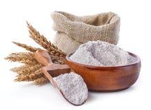 Whole grain flour Stock Photo