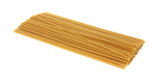 Whole grain linguine Stock Photography