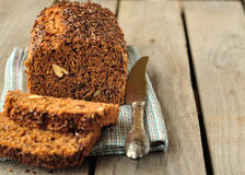 Whole-Grain Loaf Cake Stock Photos