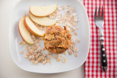 Whole Grain Muffins Stock Photo
