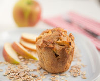 Whole Grain Muffins Royalty Free Stock Photos