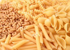 Whole grain pasta Royalty Free Stock Photography