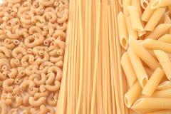 Whole grain pasta stock images