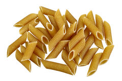 Whole grain pasta Royalty Free Stock Photos