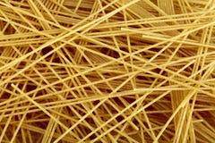 Whole grain pasta. Raw bio whole grain pasta as food background. DFF image, Adobe RGB Royalty Free Stock Photos