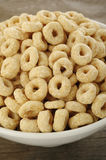 Whole grain rings cereal Stock Image