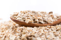 Whole grain, rolled oats Stock Photography