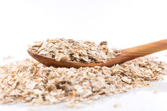 Whole grain, rolled oats Royalty Free Stock Photos