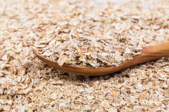 Whole grain, rolled oats Royalty Free Stock Images