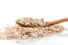 Whole grain, rolled oats Royalty Free Stock Photography
