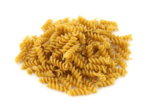 Whole grain Rotini pasta Royalty Free Stock Photography