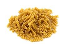 Whole grain Rotini pasta royalty free stock photography