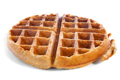Whole grain waffle Royalty Free Stock Photo