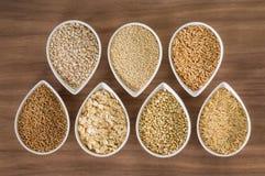 Whole Grains Stock Images
