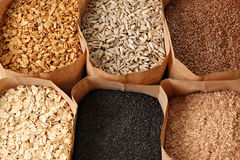 Whole grains Stock Photos