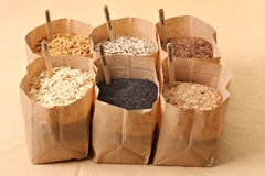 Whole grains Royalty Free Stock Photo