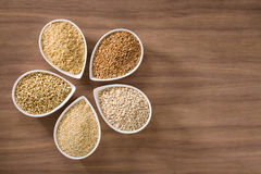 Whole Grains Royalty Free Stock Images