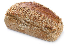 Whole grains bread isolated Stock Image