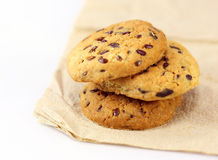 Whole grains cookies Stock Photo