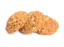 whole grains cookies Stock Image