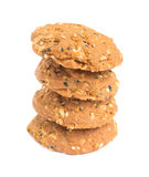 whole grains cookies Stock Images