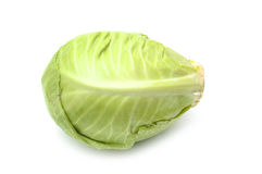 Whole green cabbage Royalty Free Stock Photos