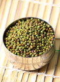whole green moong Stock Photo