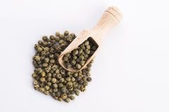 Whole Green Pepper Stock Photos