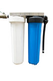 Whole house water filter (isolated) Stock Photos