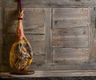 Whole jamon serrano Stock Images