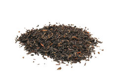 Whole leaf black tea Royalty Free Stock Images