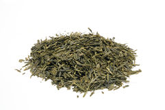 Whole leaf green tea Royalty Free Stock Image