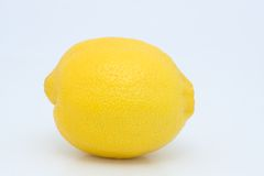 Whole lemon Royalty Free Stock Images