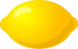 Whole lemon vector illustration