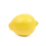 Whole lemon isolated Stock Photography