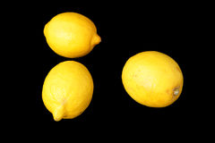 Whole lemons Royalty Free Stock Photography