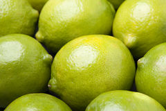 Whole Limes in Pile Royalty Free Stock Photo