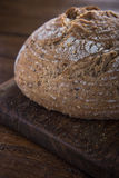 Whole loaf of artisan bread Stock Photography