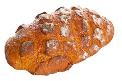 Whole loaf of farmhouse bread Stock Photo