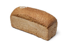 Whole loaf of spelt bread Royalty Free Stock Photos