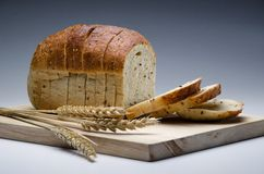 Whole meal bread Royalty Free Stock Photo