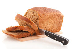 Whole meal brown bread Stock Photos