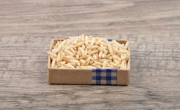Whole meal rice. Colorful and crisp image of whole meal rice Royalty Free Stock Image