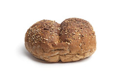 Whole multi grain bread roll Royalty Free Stock Photos
