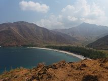 Whole Nagsasa Cove in the Philippines. Taken at Nagsasa Cove Zambales Philippines. April 29 2017 at 9:53 AM Royalty Free Stock Photos
