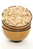 Whole Oats in Bowl Royalty Free Stock Photos