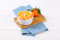 Whole orange with slices Royalty Free Stock Photography